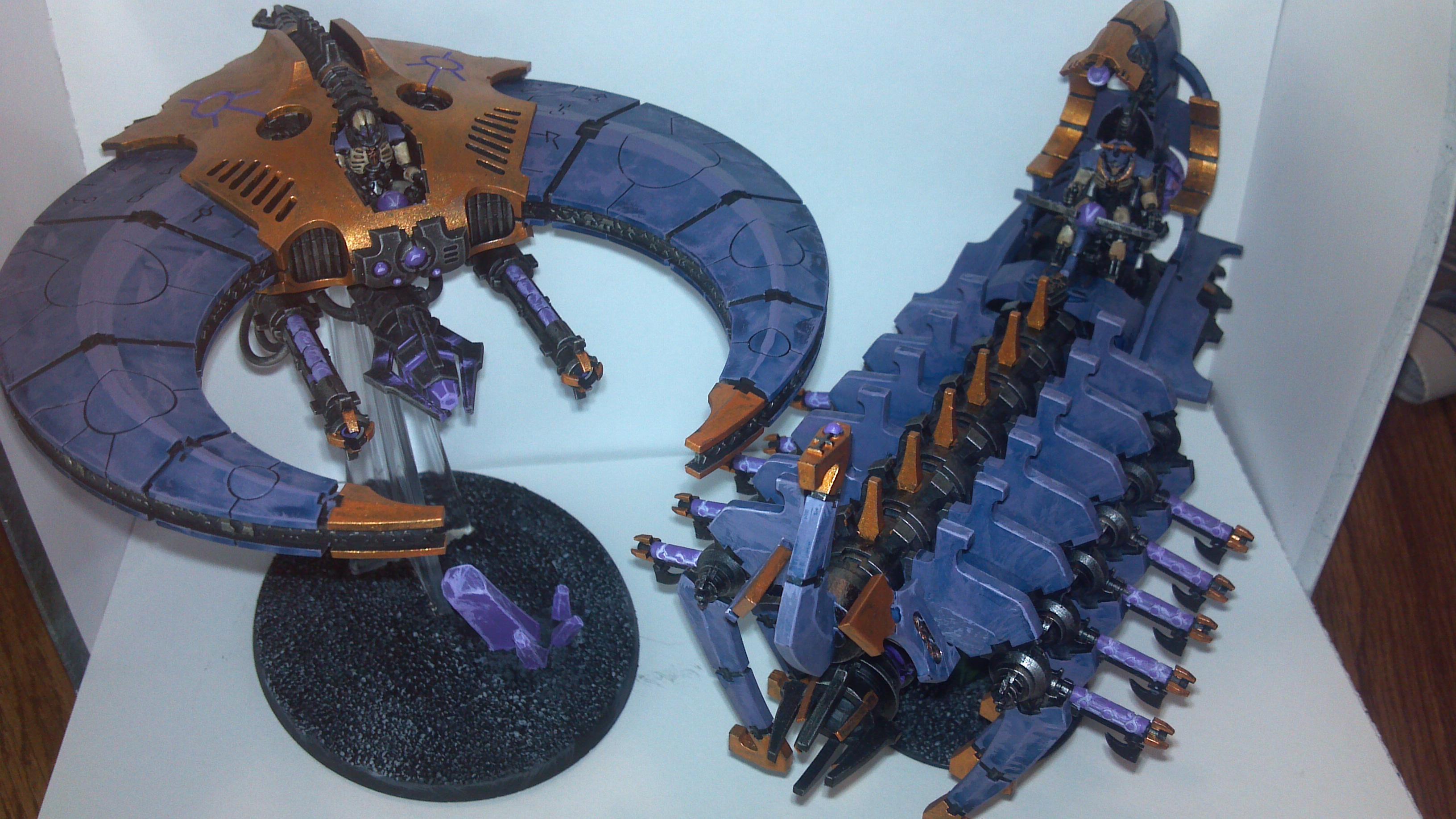Canoptec, Doomscythe, Doomsday Arc, Necrons, Scarabs, Spider, Warriors, Wraith