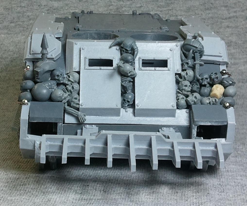 Chaos Space Marines, Forge World, Rhino, Rogue Trader, Skull