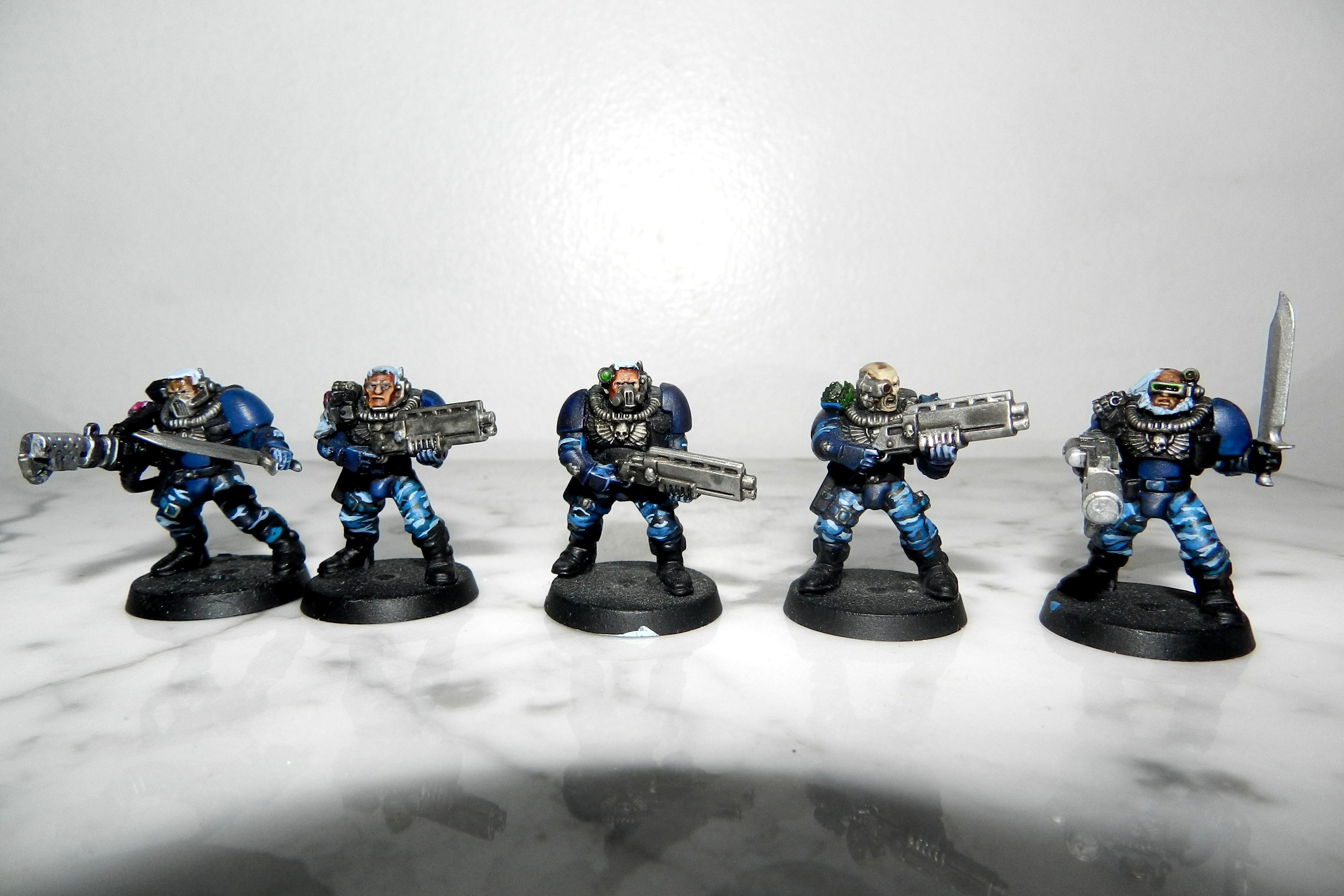 Adeptus Arbites, Cadians, Camouflage, Carapace, Carapace Armour, Commissar, Conversion, Fenris, Flamer, Gears Of War, Grenadiers, Guardsmen, Imperial Guard, Meltagun, Scouts, Seargent, Shotgun, Space Wolves, Urban, Veteran, Warhammer 40,000, Wolf Scout, Work In Progress