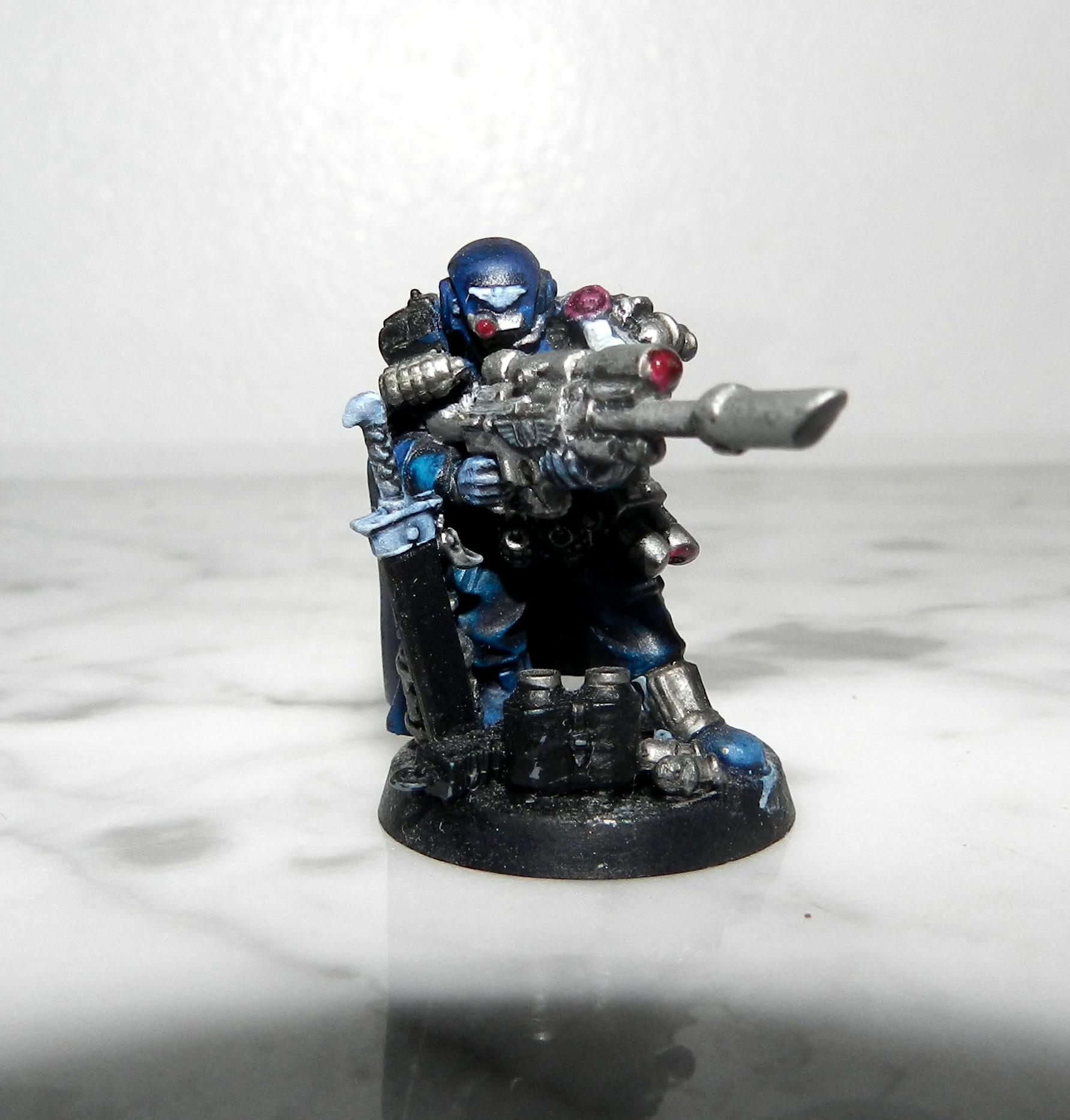 Adeptus Arbites, Cadians, Camouflage, Conversion, Gears Of War, Guardsmen, Imperial Guard, Marbo, Sly Marbo, Snipers, Warhammer 40,000, Work In Progress