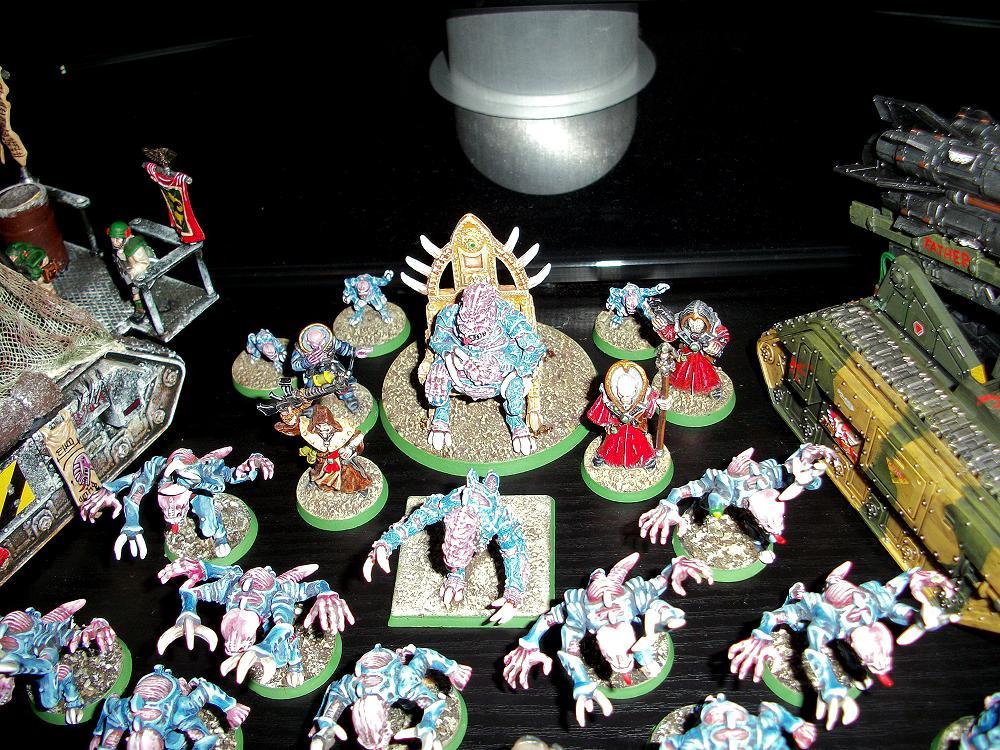 Genestealer, Genestealer Cult, Patriach, Traitor Guard, Tyranids, Warhammer 40,000