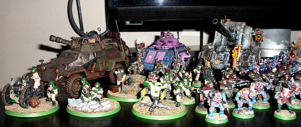 Genestealer, Genestealer Cult, Traitor Guard, Tyranids, Warhammer 40,000