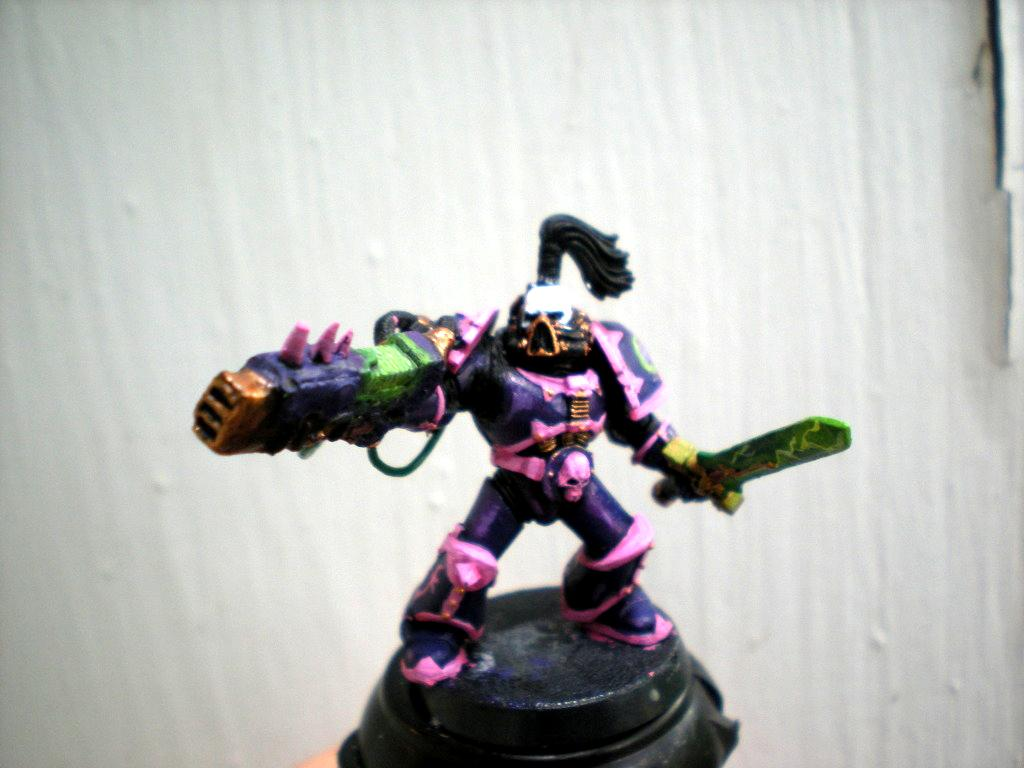 Noise Champion, Noise Marines, Slaanesh