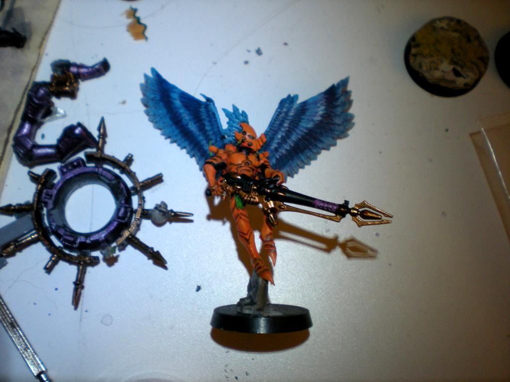 Dark Eldar, Orange, Scourge
