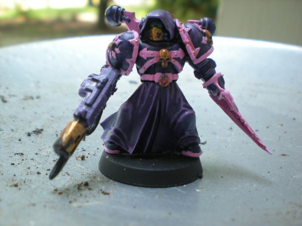 Chosen, Claw, Pink, Purple, Slaanesh