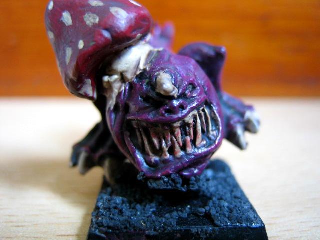 Goblins, Mushroom, Night, Purple, Squigs