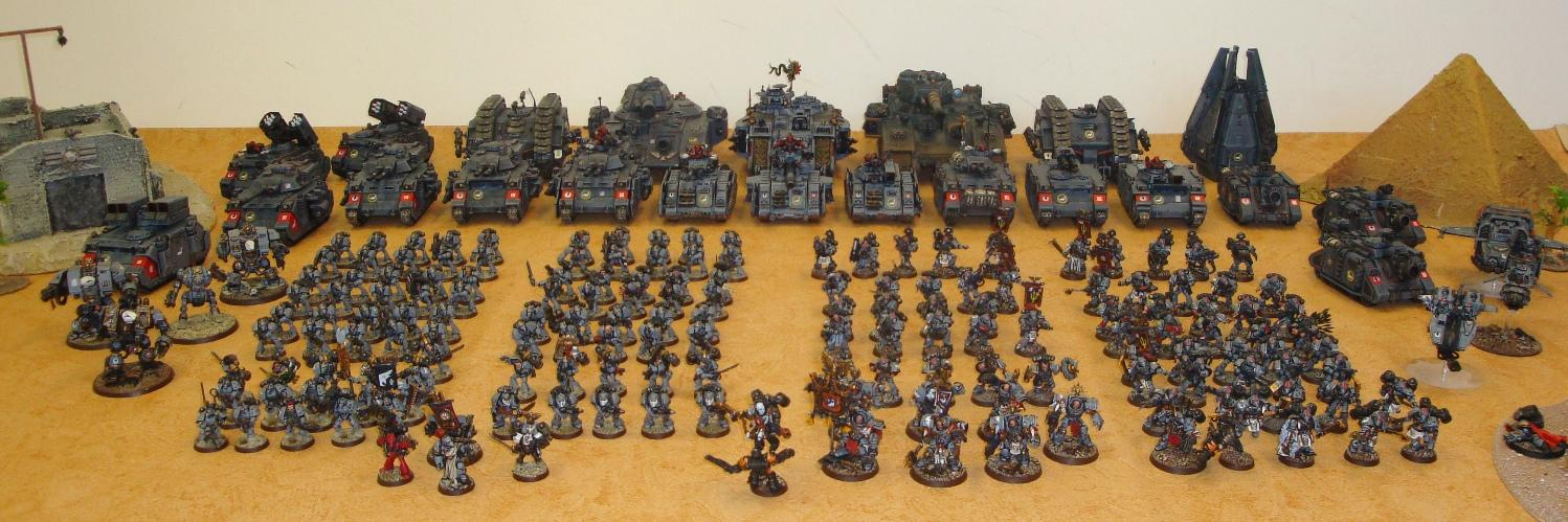 Army, Conversion, Female, Female Space Marines, Space Marines, Space Sharks