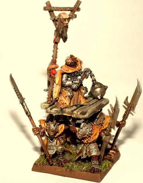 Litter, Skaven, Warlord