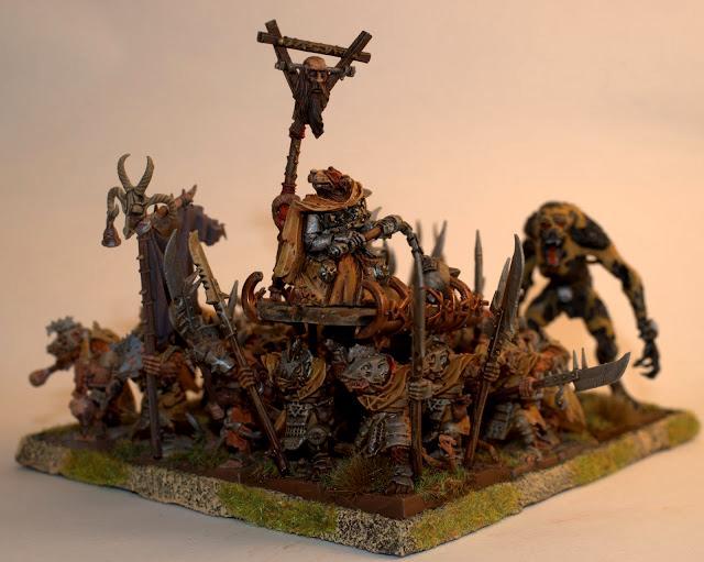 Skaven, Stormvermin, Stormvermin regiment
