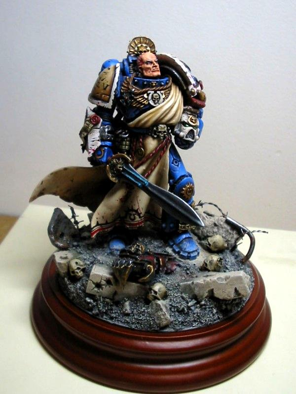 Awesome, Conversion, Golden Demon, Guardsmen, Horus Heresy, Primarch, Roboute Guilliman, Spaces Marines, Ultramarines, Warhammer 40,000