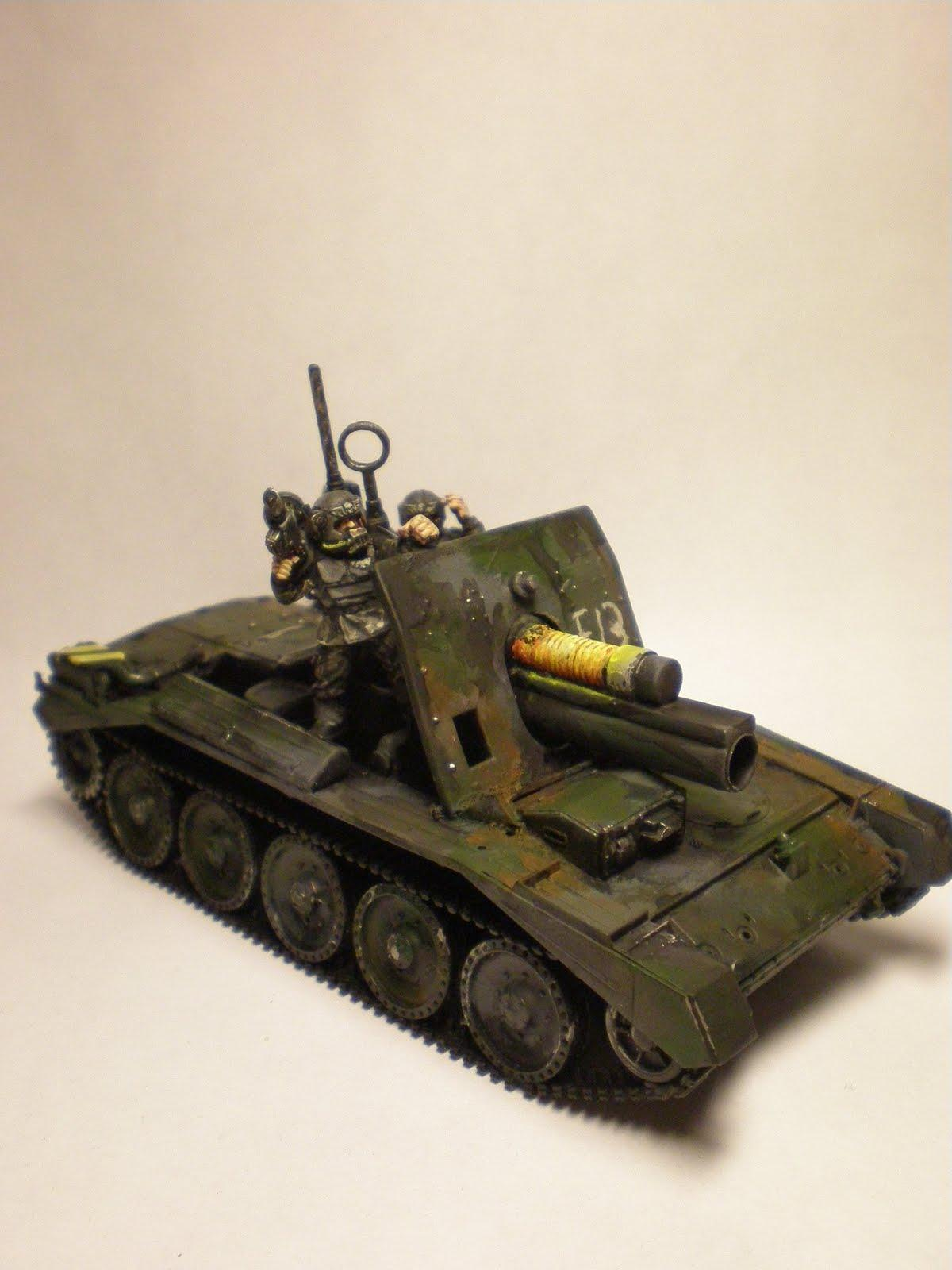 Conversion, Imperial Guard, Plasma, Self-propelled, Tank