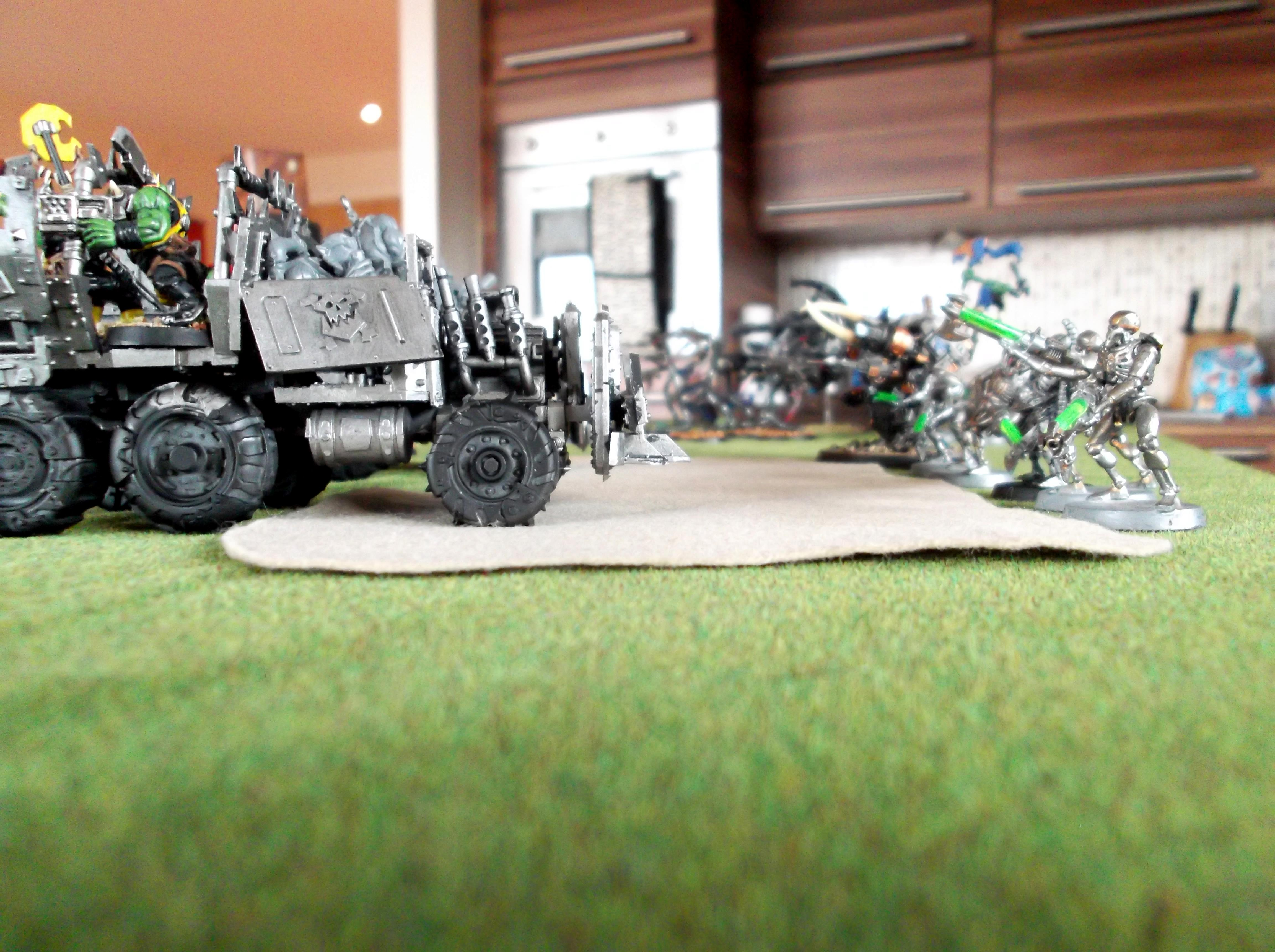 Necrons, Orks