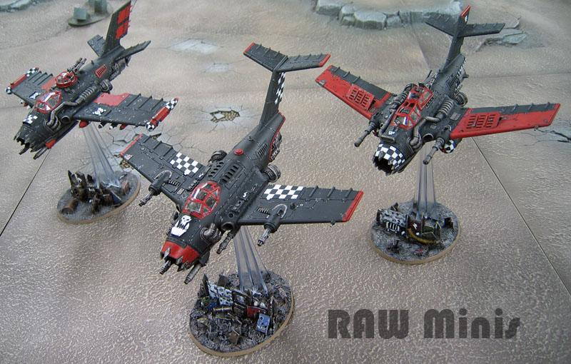 Bommer, Flyer, Orks, Painting, Vehicle, Warhammer 40,000