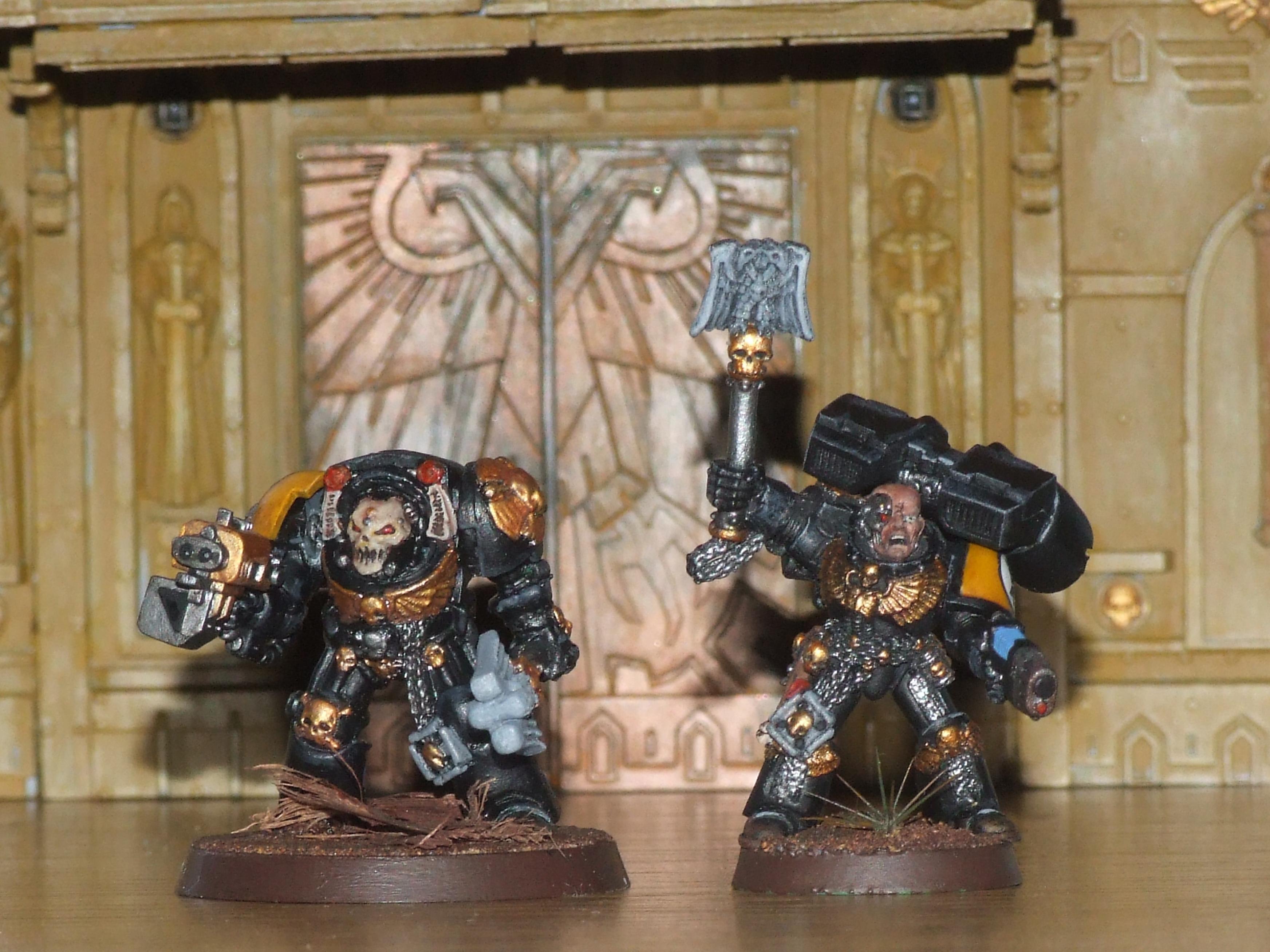 Chaplain, Imperial Fists, Jump Pack, Power Armour, Terminator Armor