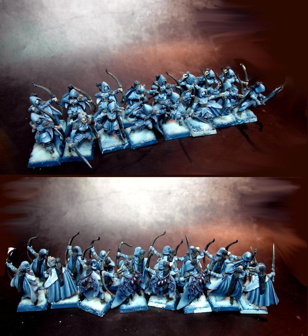 Aosol, Warhammer Fantasy, Winter, Wood Elves
