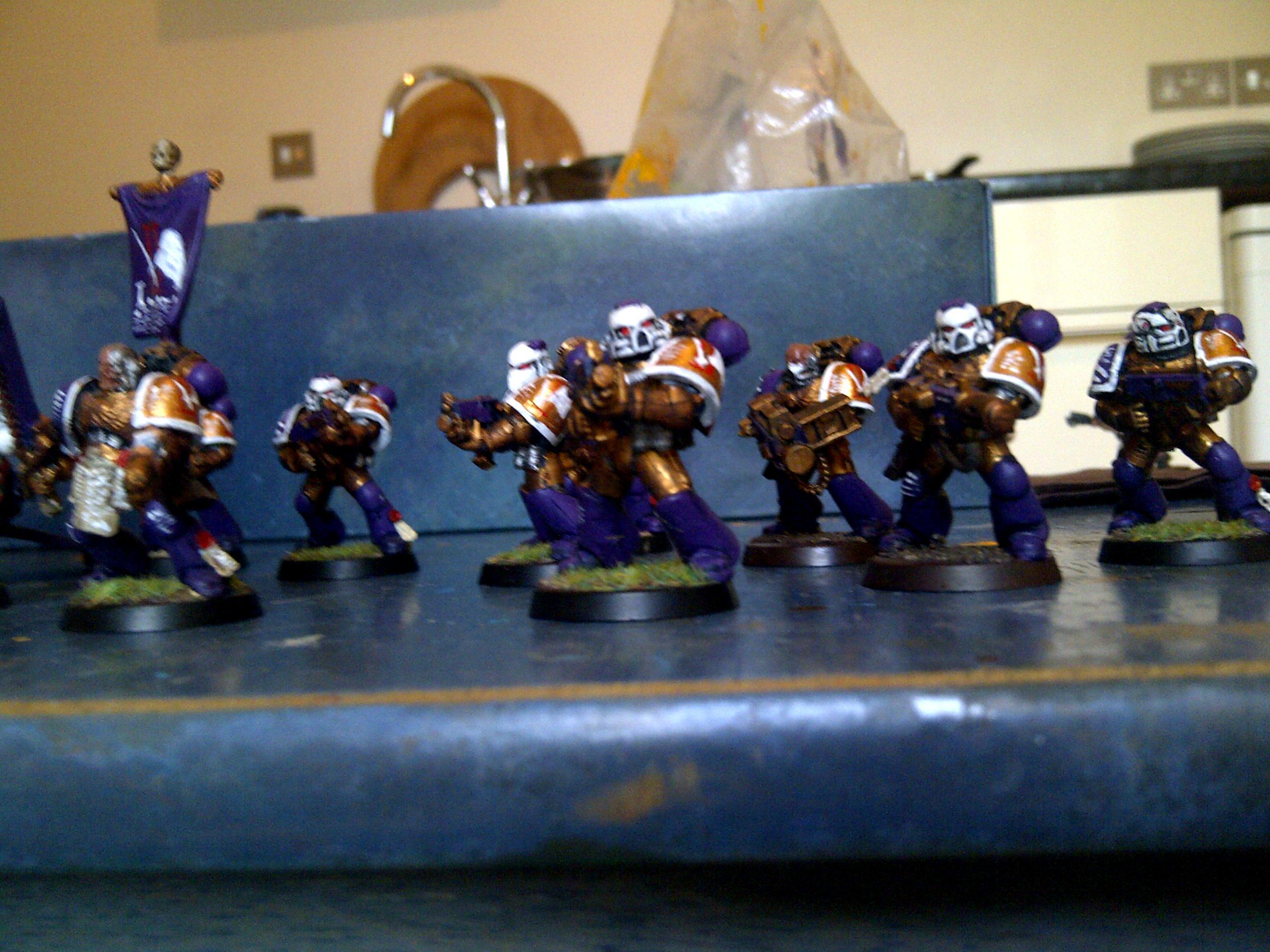 Razorback, Sanguinary Priest, Tactical Squad