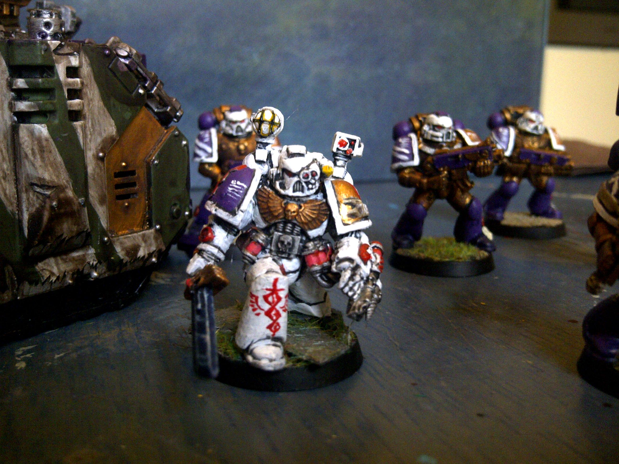 Razorback, Sanguinary Priest, Tactical Squad