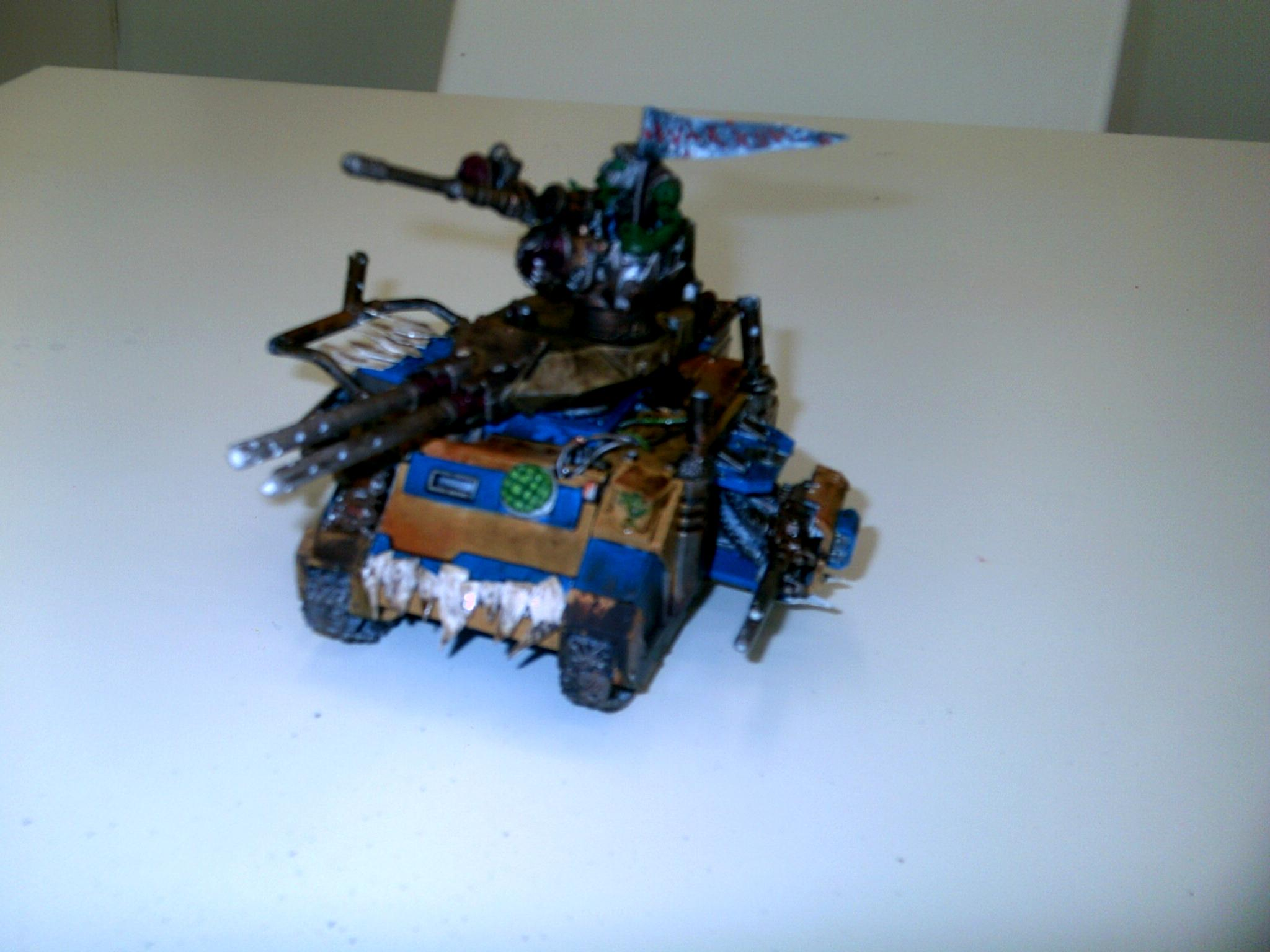 Conversion, Looted Tank, Orks