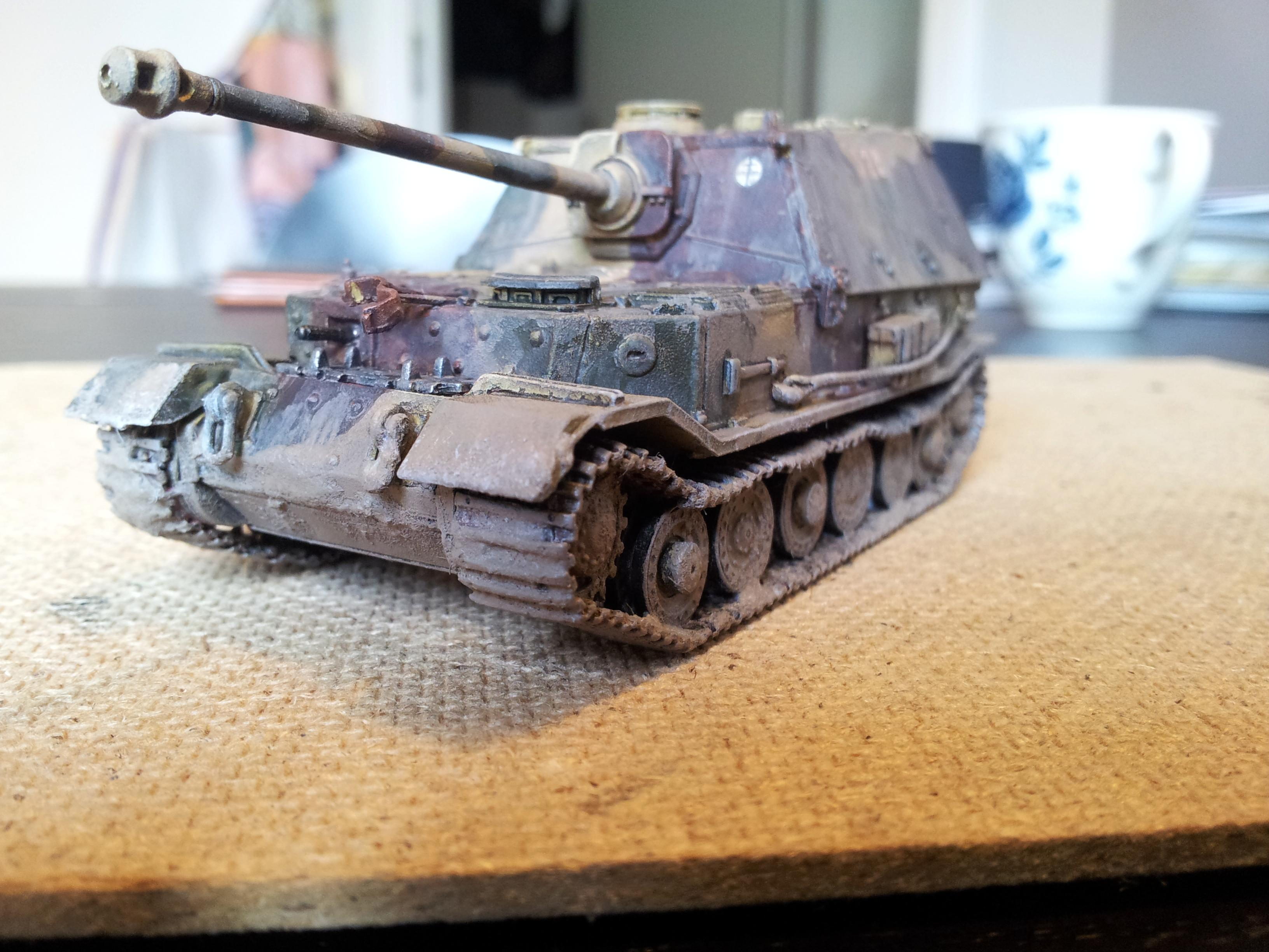 Elephant, Germans, Panzer, Weathered, World War 2