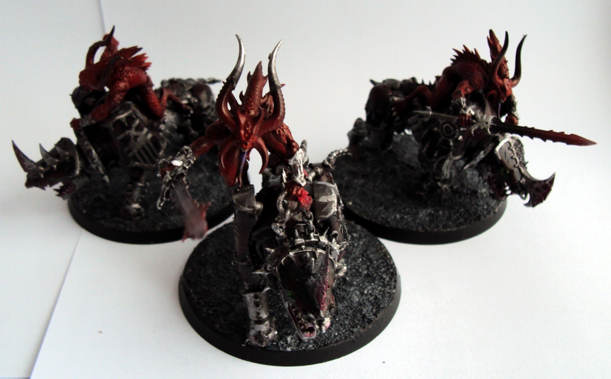 Bloodcrushers, Chaos Daemons, Juggernaut, Khorne, Warhammer 40,000