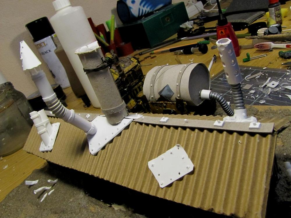 Cardboard, Competition, Cookie Package, Cookies, Orks, Scratch Build, Work In Progress