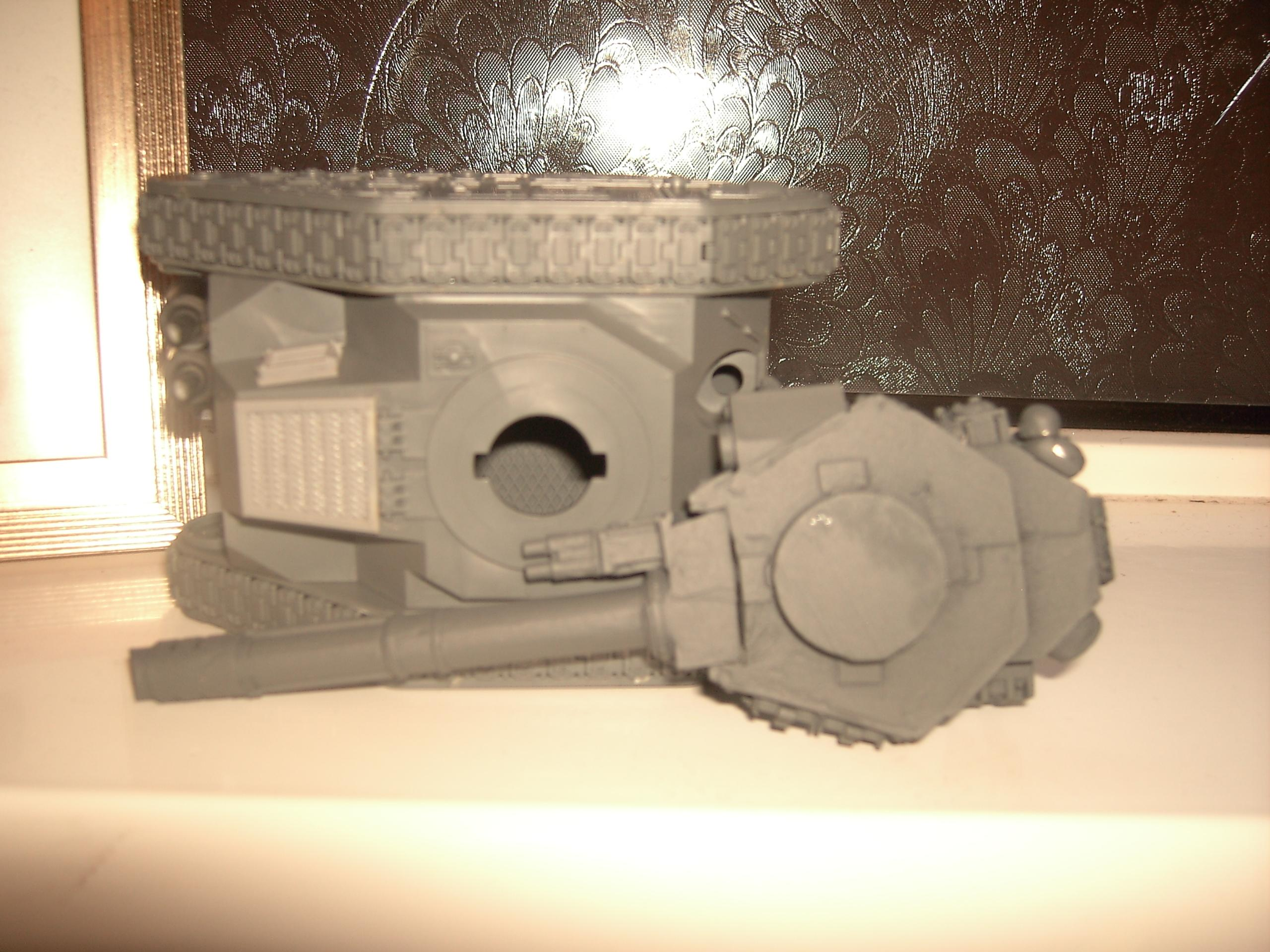 Forge World, Grey Basecoat, Imperial Guard, Turrets, Warhammer 40,000, Work In Progress