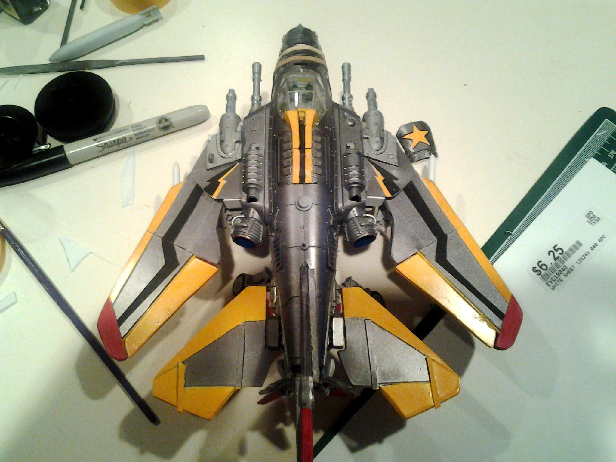 Bomber, Conversion, Dakka Jet, Fighter, Modification, Swing Wing, Swing Wing Dakka Jet Swing Wing  Fighter Bomber
