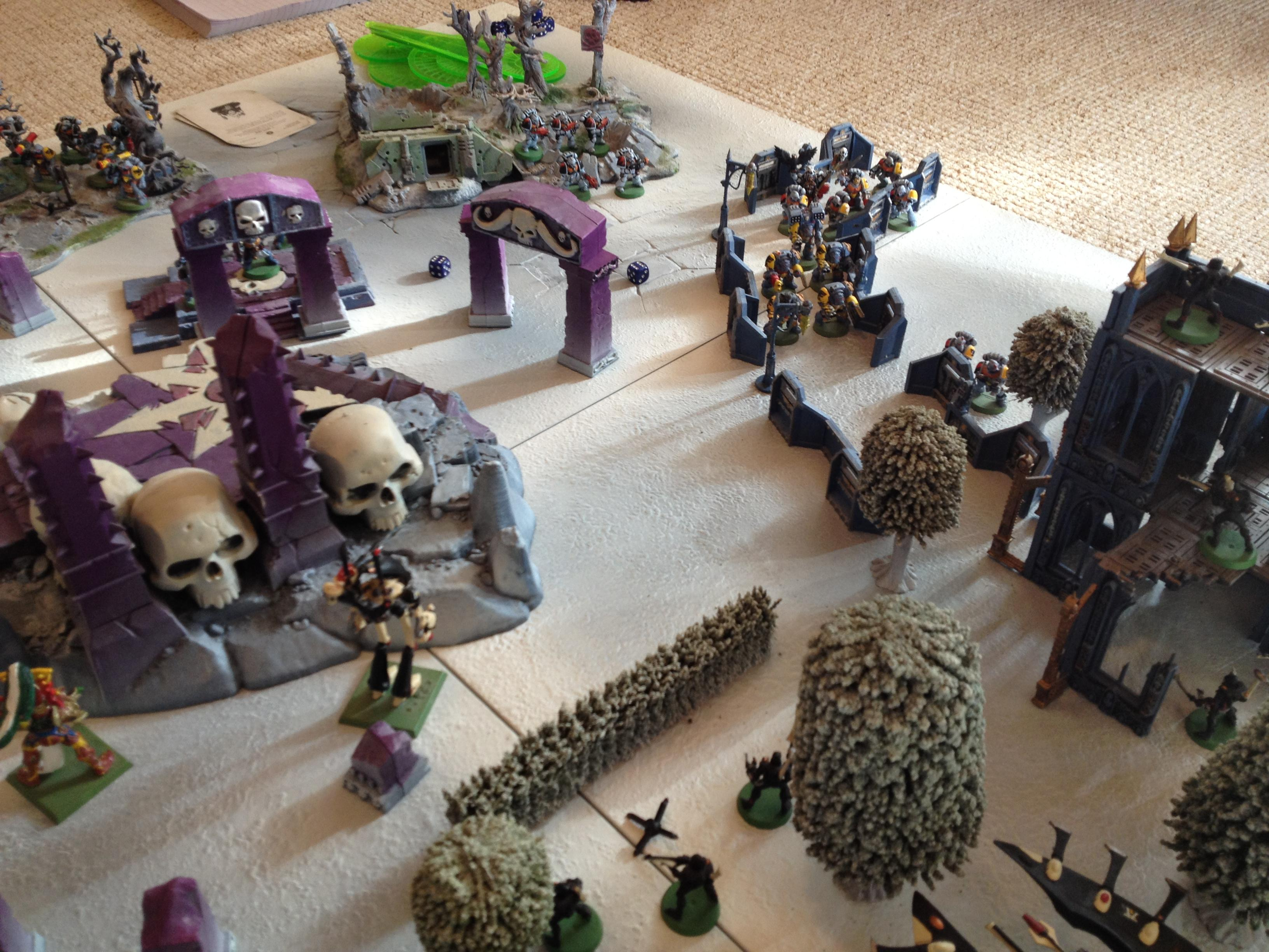 Game Table, Warhammer 40,000