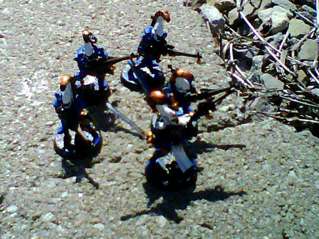 Army, Dire Avengers, Eldar