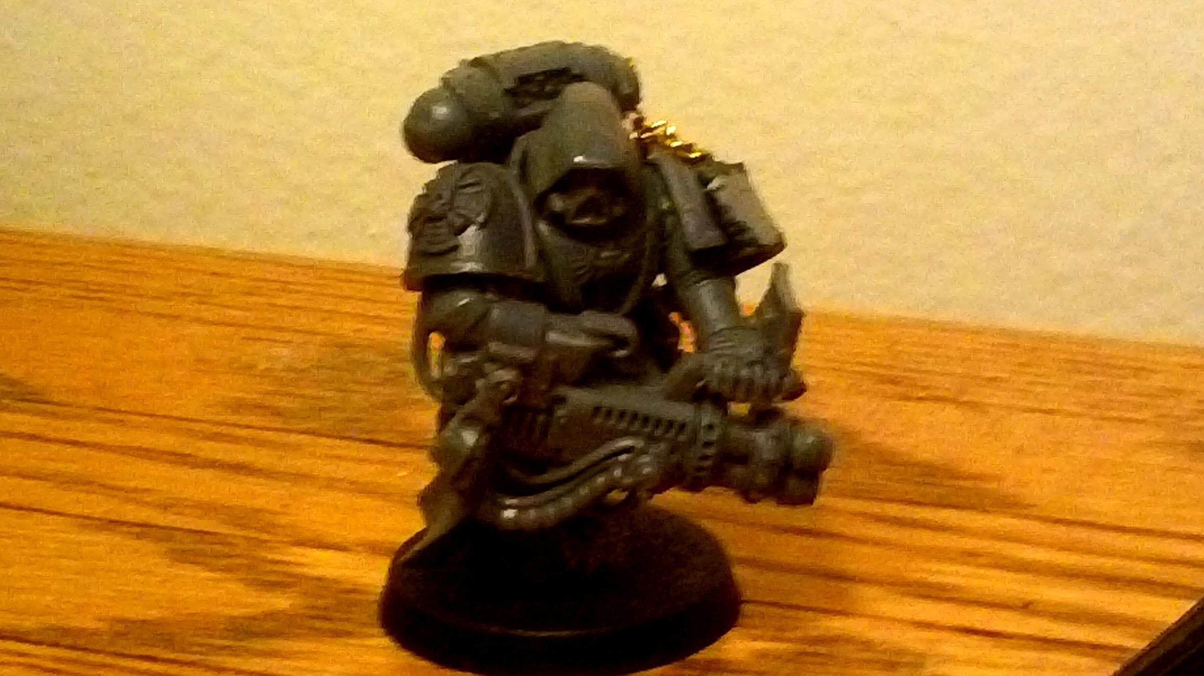 Conversion, Deatwatch, Psycannon, Robed Marine, Veteran