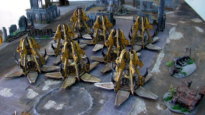 Beastmen, Drop, Pod, Space, Space Marines, Wolf