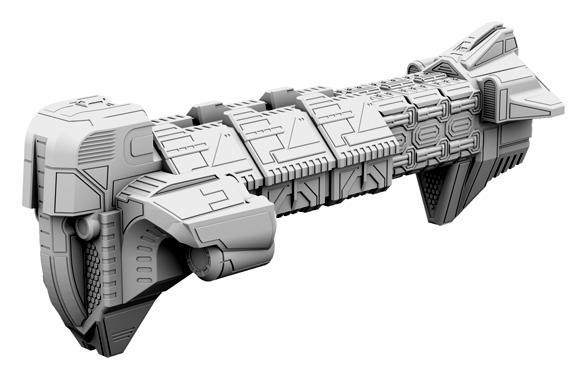 Firestorm Armada, Spaceship