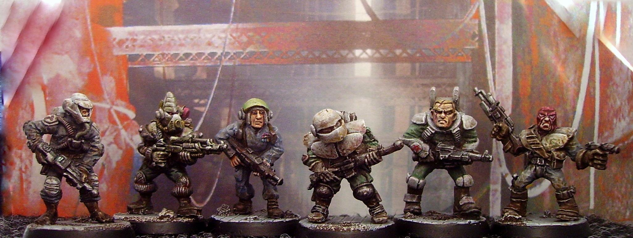 Mercenary, Old-skool, Retro, Warhammer 40,000