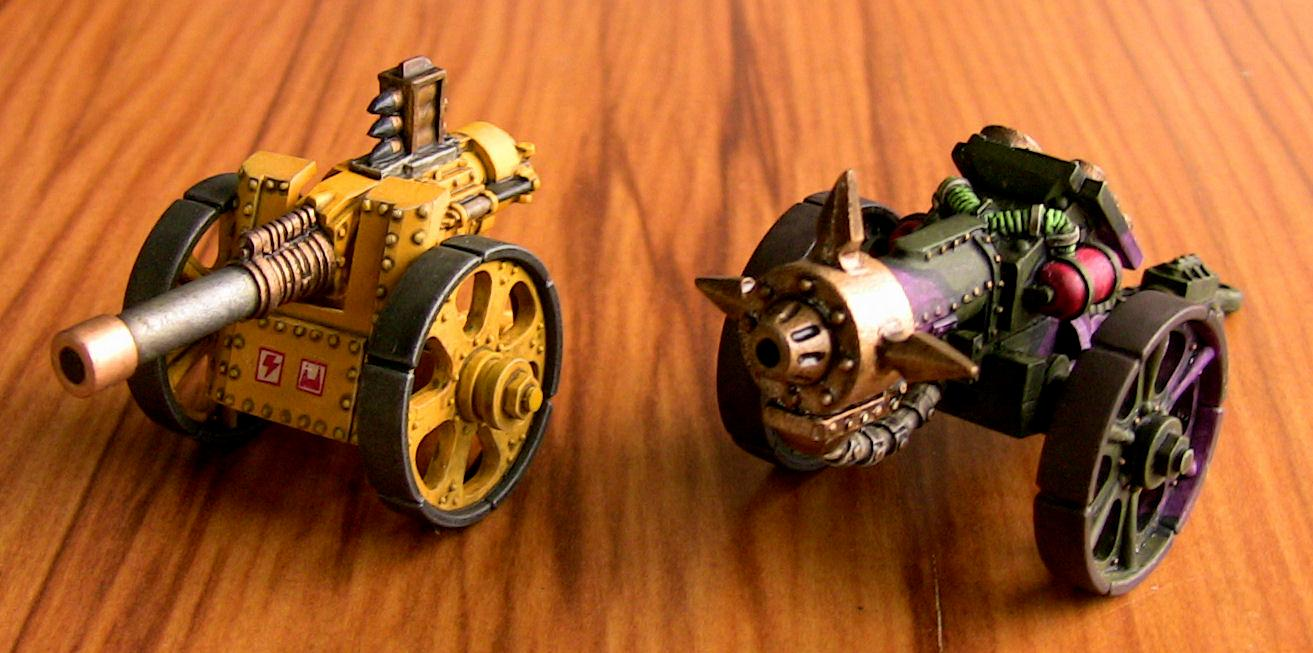 Ork Cannons, ork cannons view 1