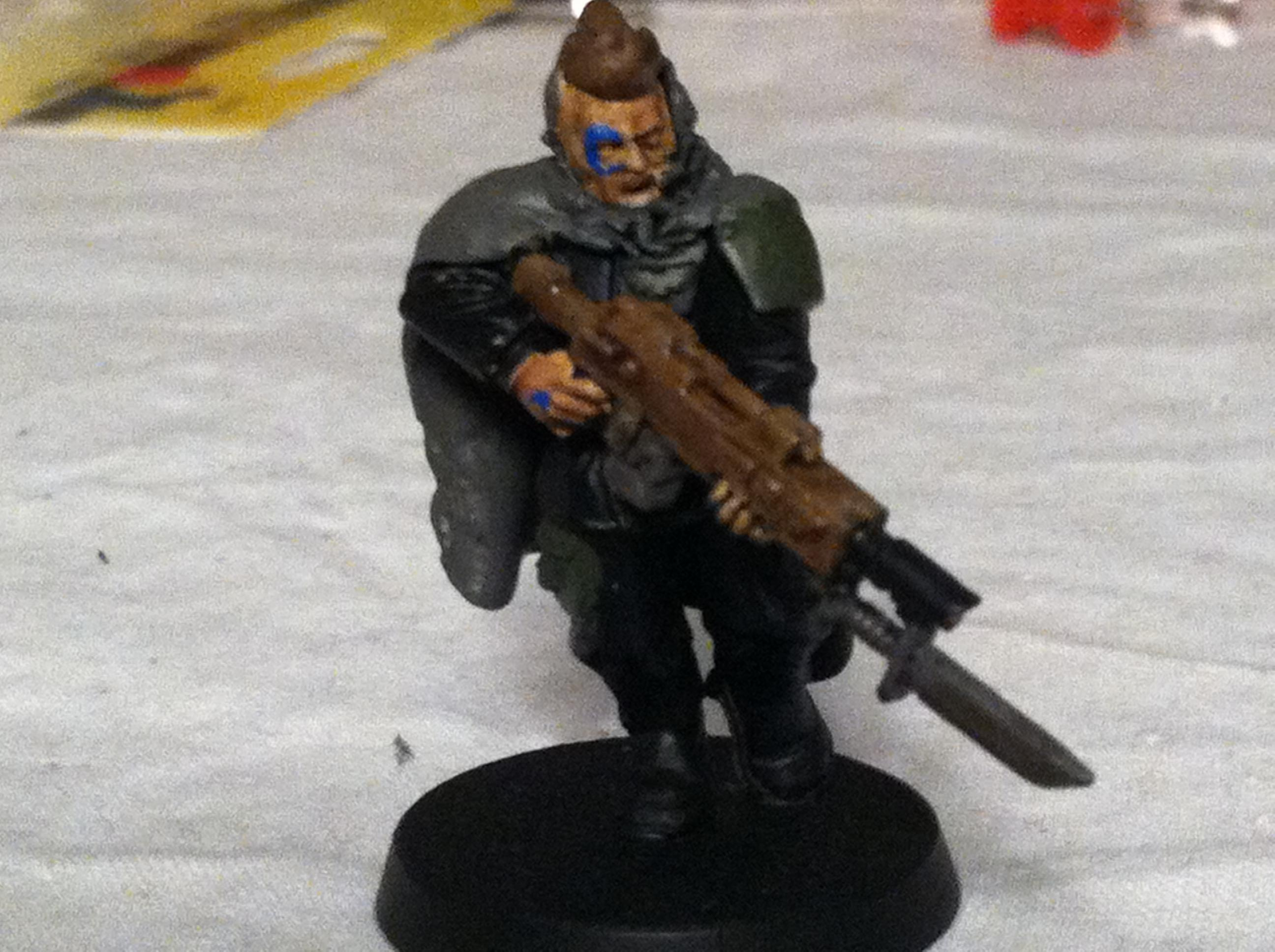 First, Lasgun, Only, Scouts, Tanith, Trooper