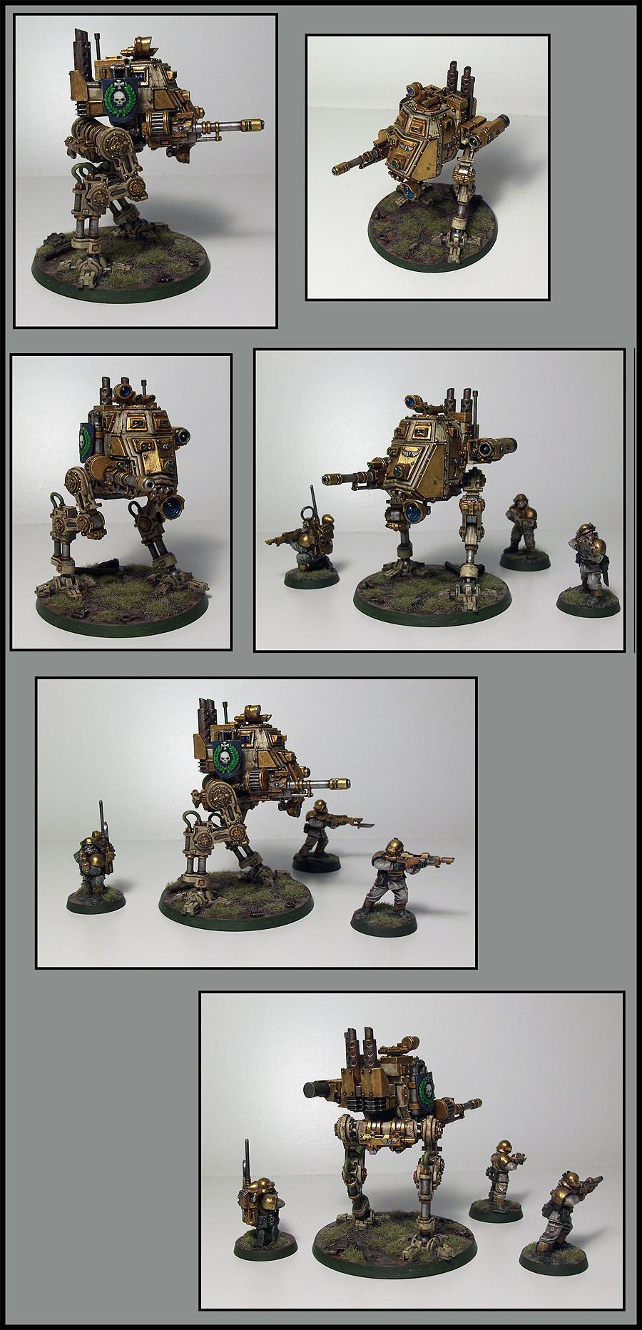 Imperial Guard, Sentinel, Walker
