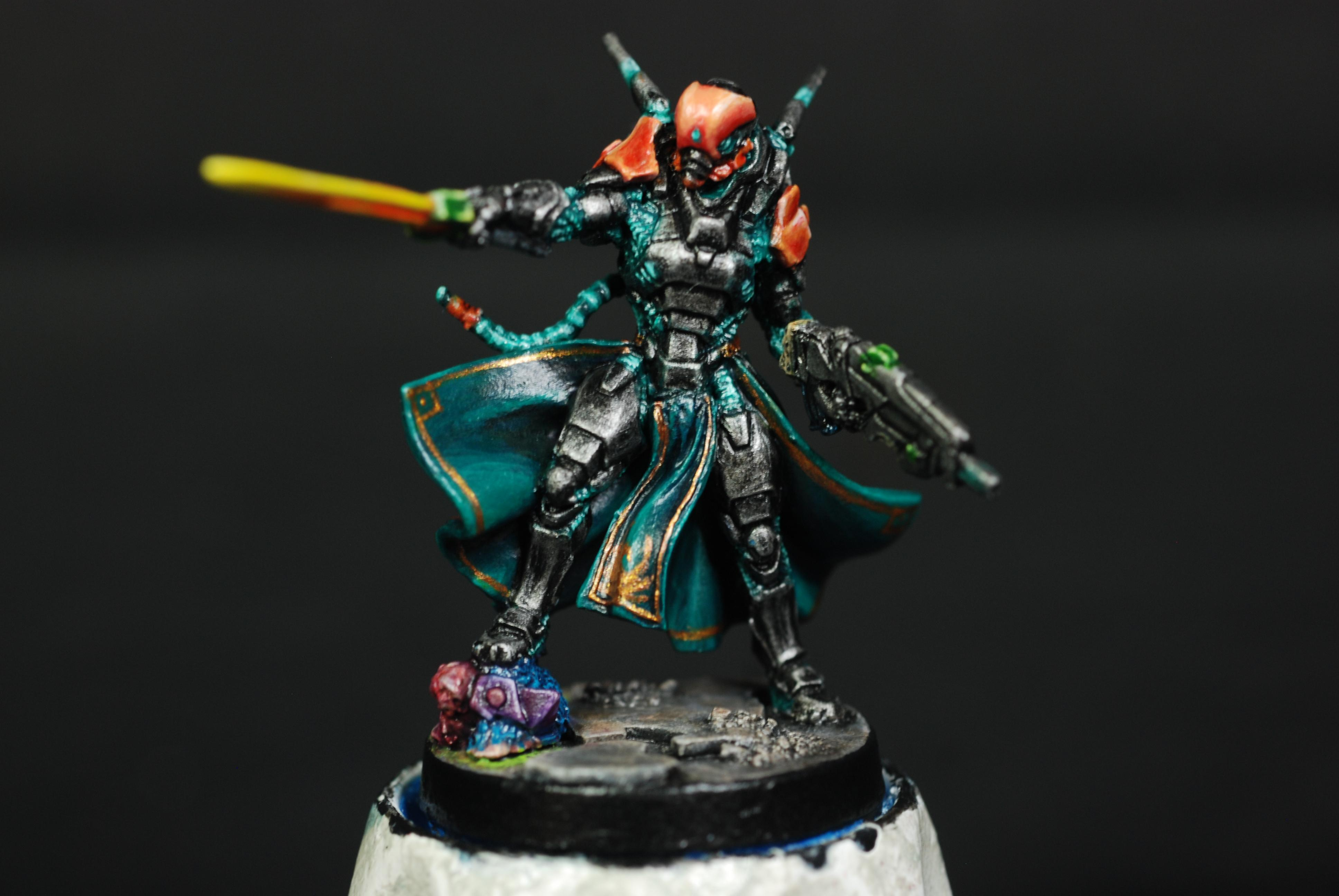 Imperial Agent Crane Rank, Infinity, Painted, Yu Jing