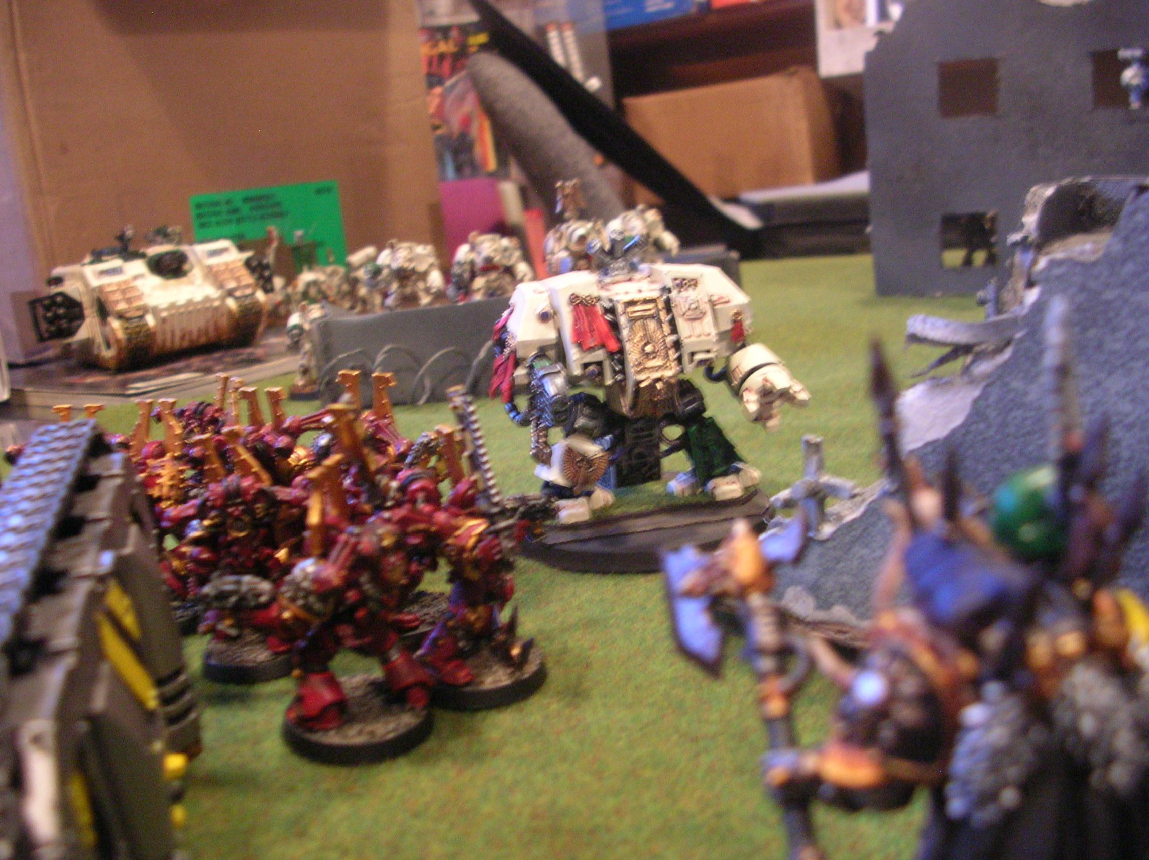 Battle Report, Deathwing, Iron Warriors