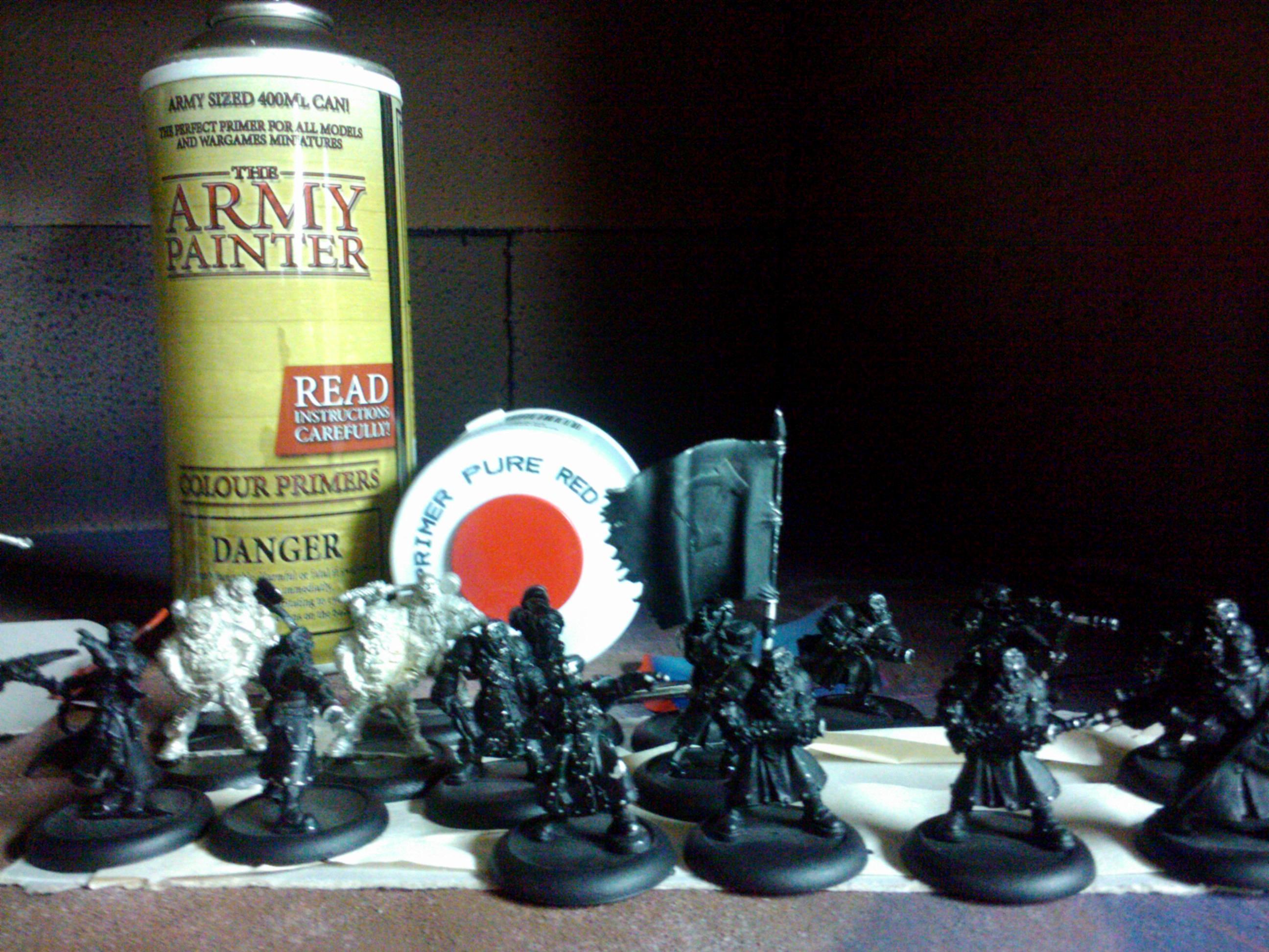 Hobby, Khador, Merc, Mercenary, Modeling, Painting, Privateer Press, Sorscha, Warjack, Warmachine, Winterguard