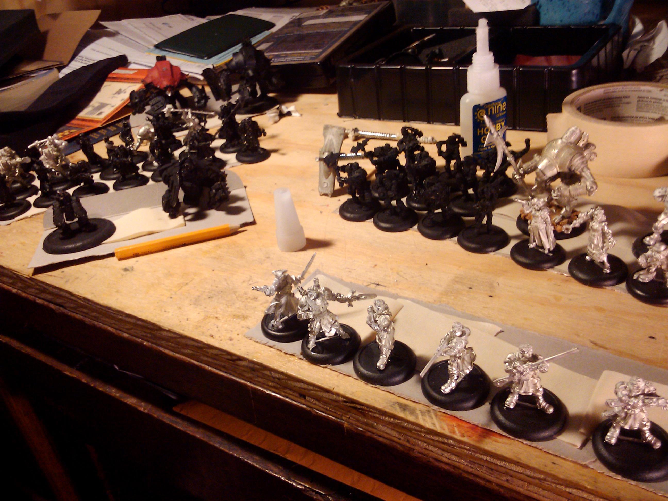 Hobby, Merc, Mercenary, Modeling, Painting, Privateer Press, Vanguard, Warjack, Warmachine