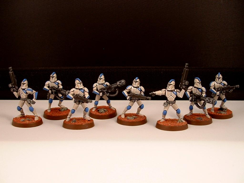 Clone Troopers, Clone Wars, Star Wars, Tactical Squad