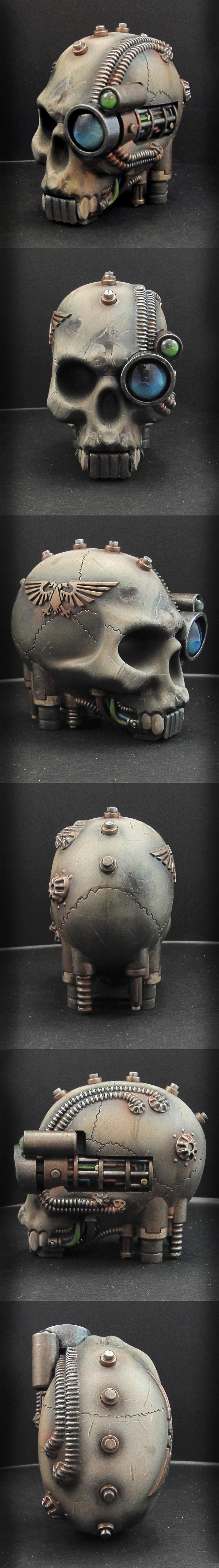 Airbrush, Munitorium, Servo, Skull, Tape Measure, Weathered