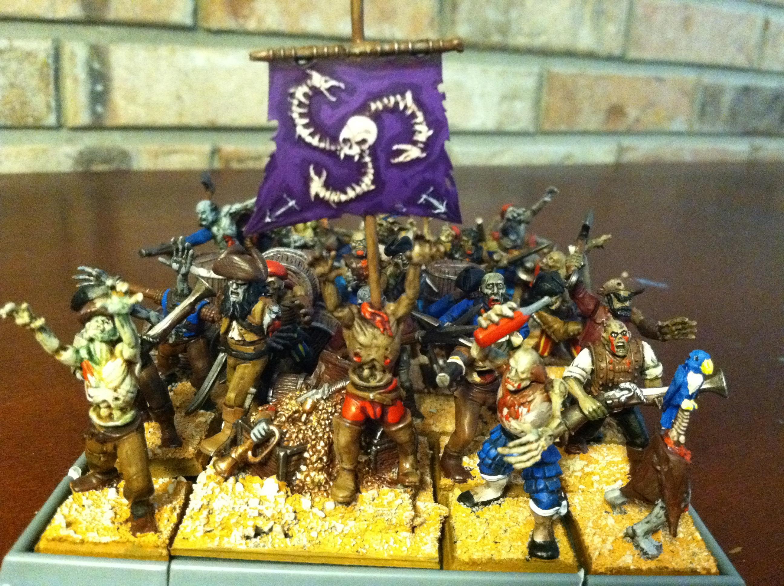 Pirates, Undead, Warhammer Fantasy, Zombie