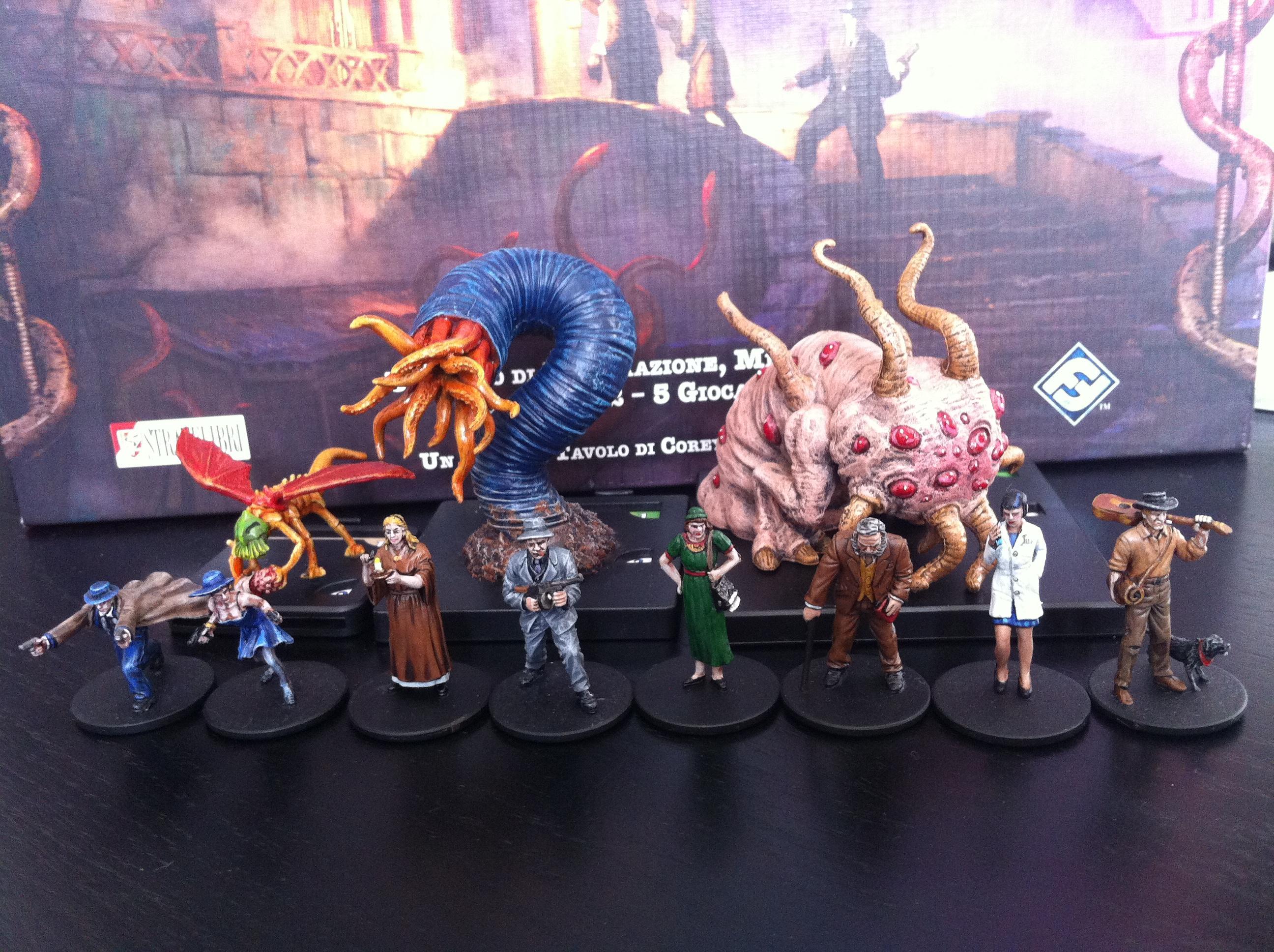 Board Game, Cthulhu, Investigatori, Investigators, Le Case Della Follia, Lovecraft, Mansion Of Madness, Monsters