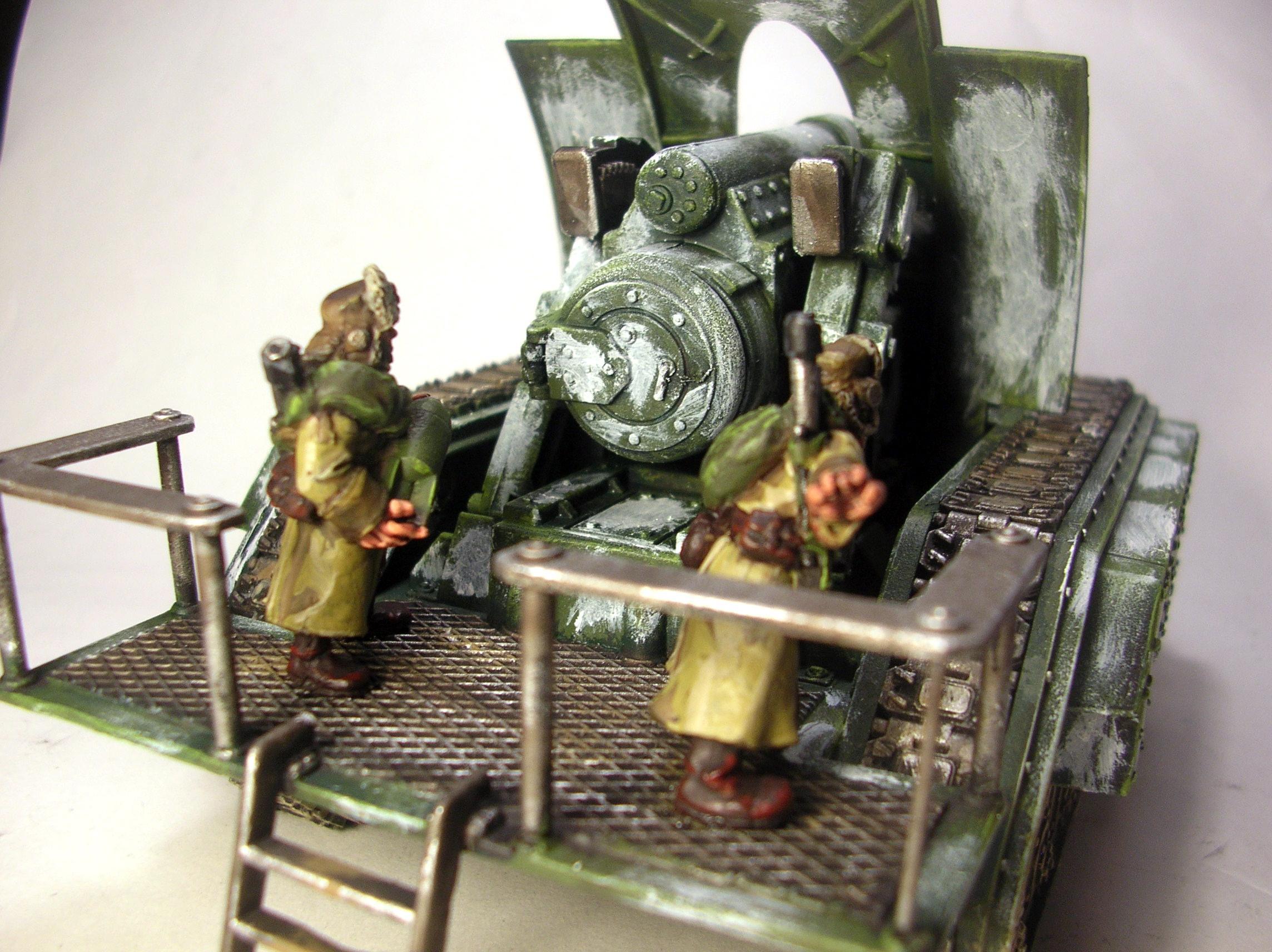 Artillery, Basilisk, Imperial Guard, Russians, Valhallans, Warhammer 40,000