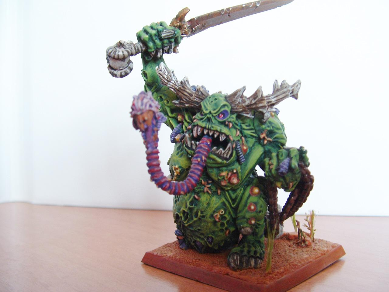 Chaos, Great Daemon, Great Unclean One, Greater Daemon, Nurgle