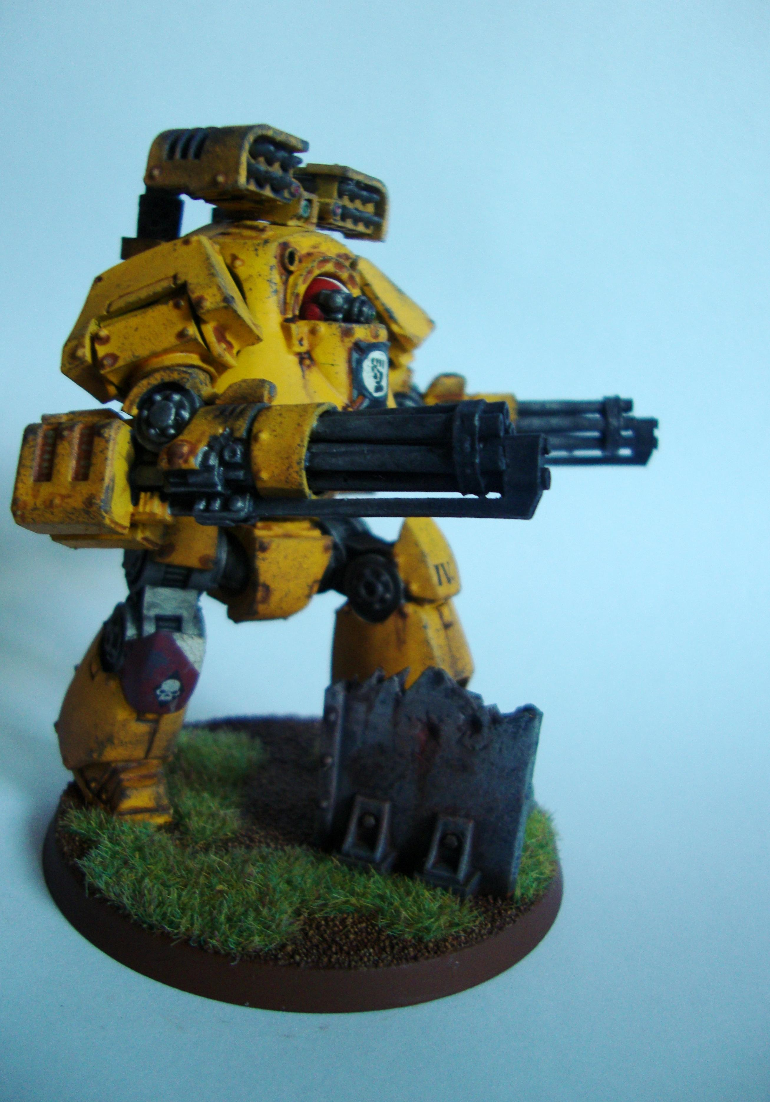 Airbrush, Contemptor, Dreadnought, Heresy, Imperial Fists, Mortis, Space Marines