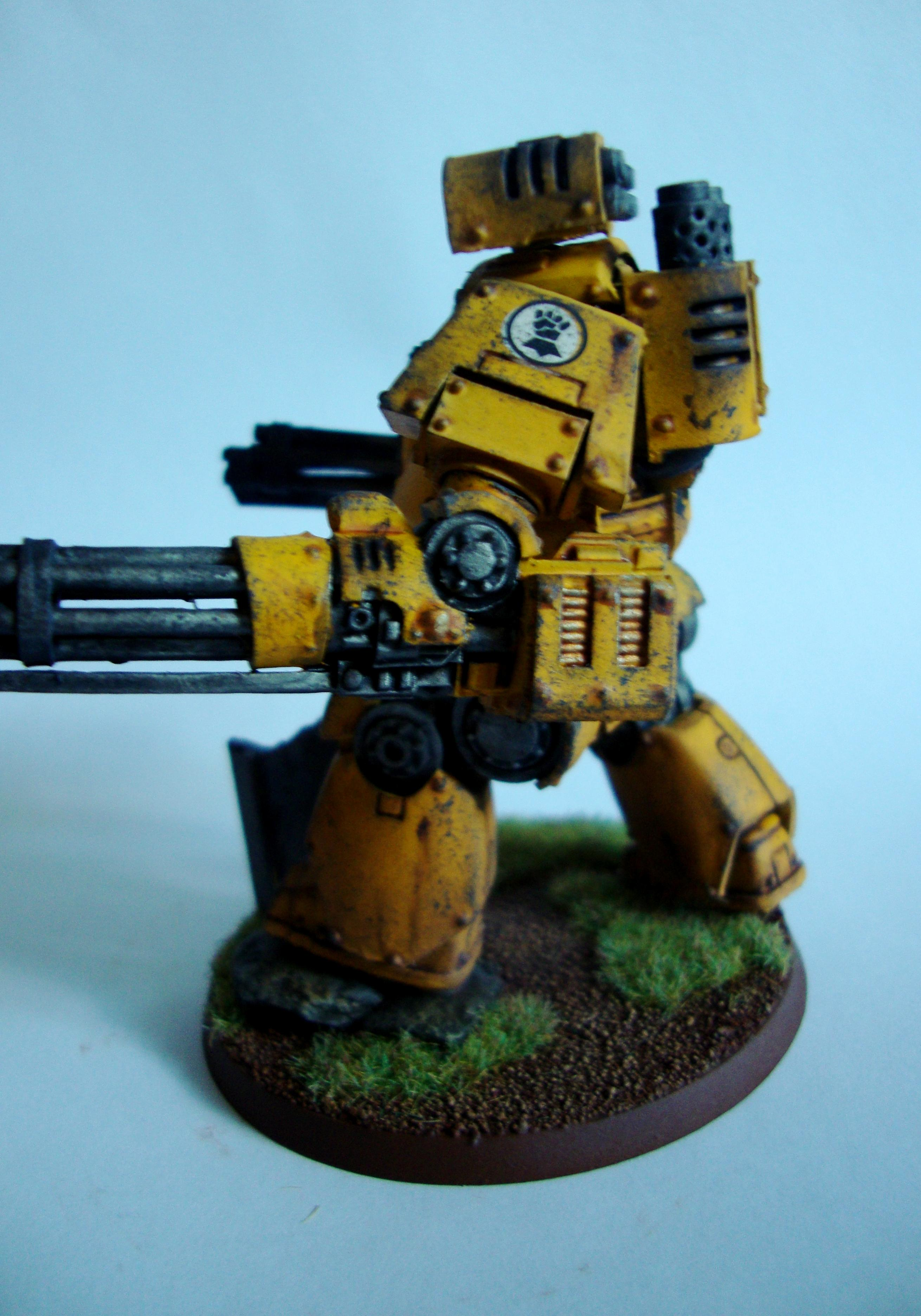 Airbrush, Contemptor, Dreadnough, Heresy, Imperial Fists, Mortis, Space Marines