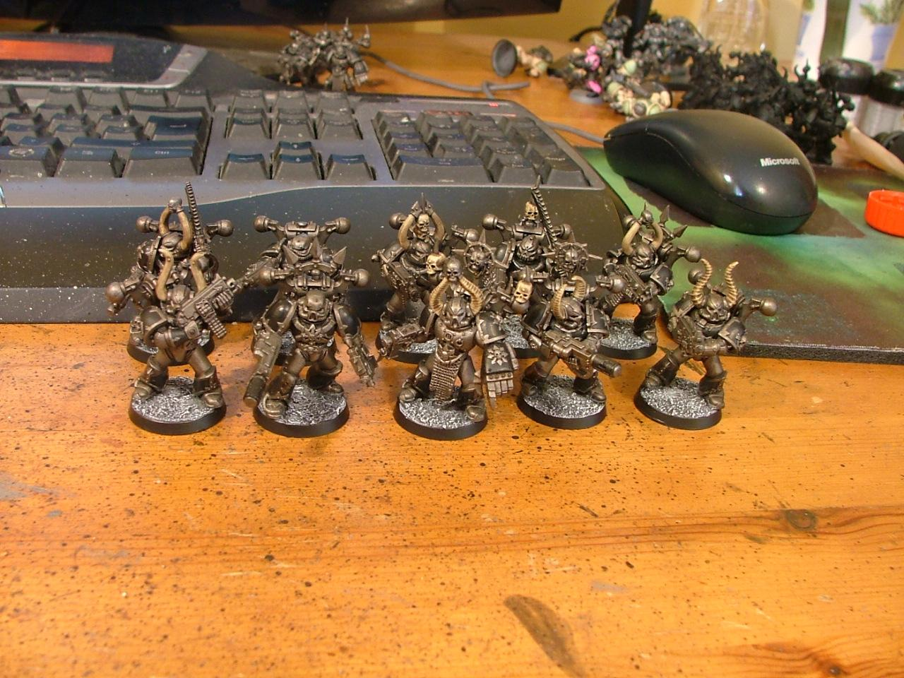 Chaos Space Marines, Squad, Warhammer 40,000