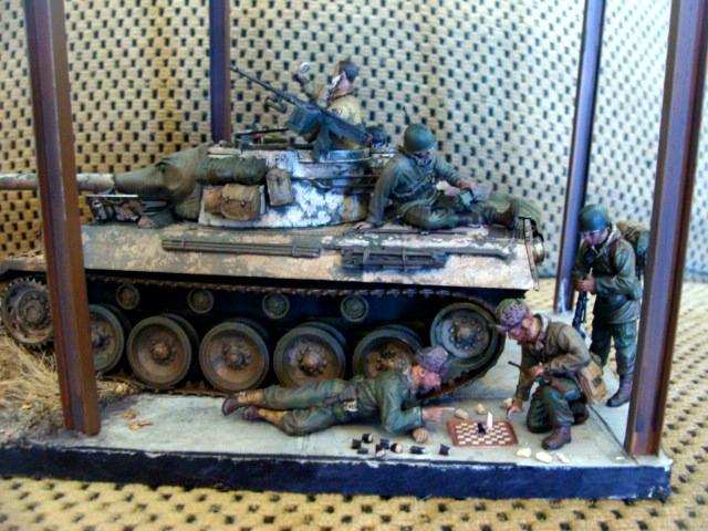 1/35, Armor, Diorama, Tank